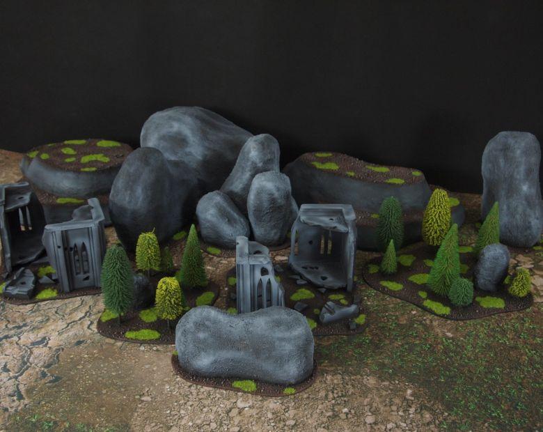 Warhammer 40k classic terrain set 6