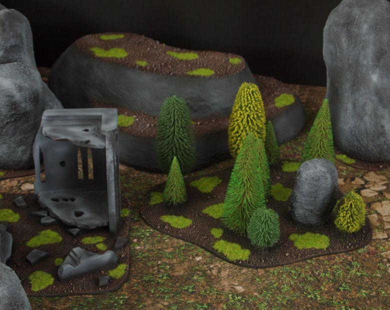 Warhammer 40k classic terrain set 7