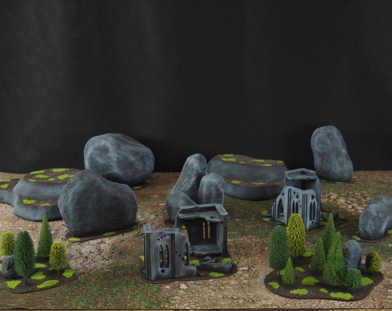 Warhammer 40k classic terrain set