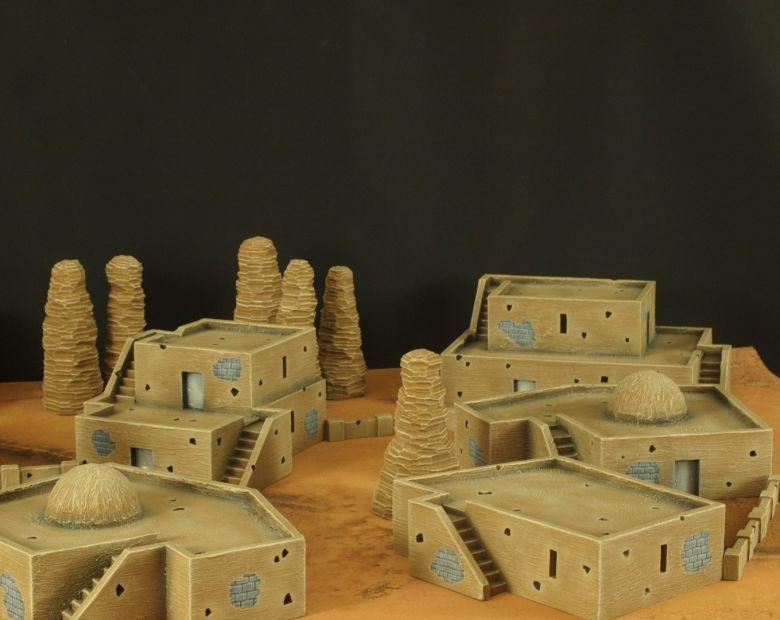 Warhammer 40k desert city 3 1