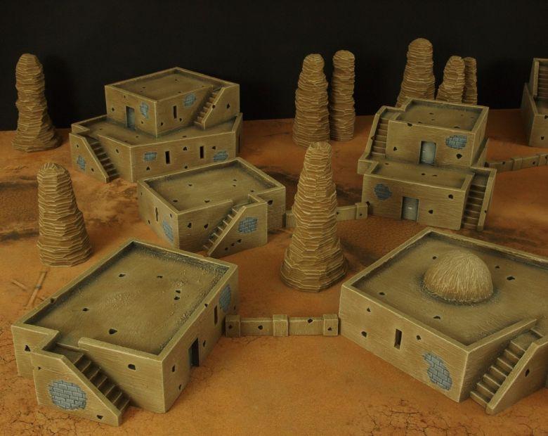 Warhammer 40k desert city 4