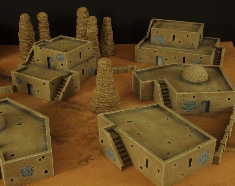Warhammer 40k desert city 5