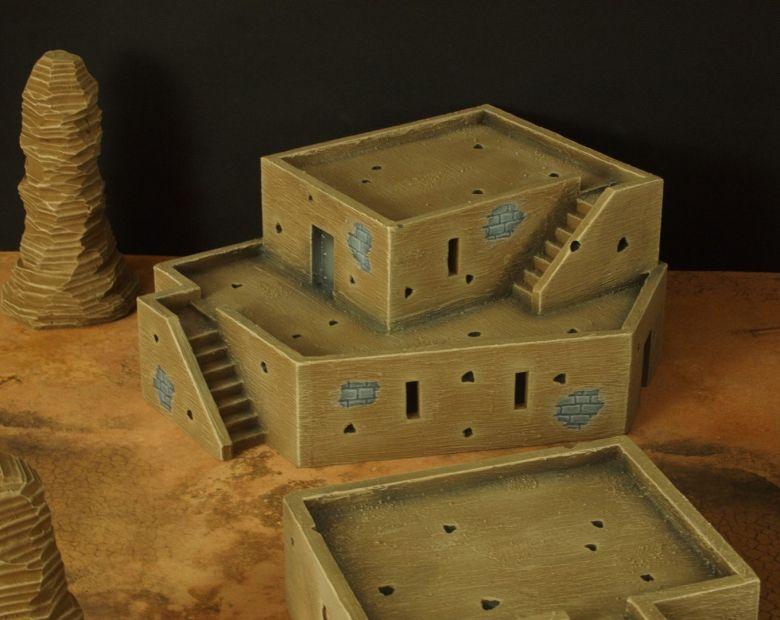 Warhammer 40k desert city house 1