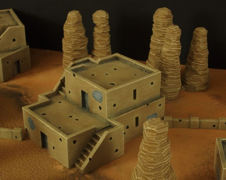 Warhammer 40k desert city house 2