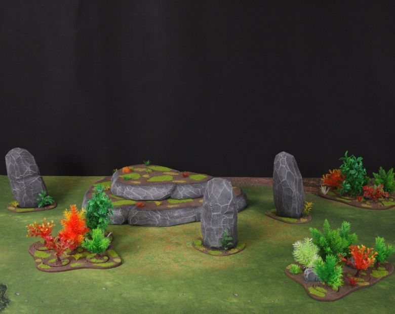 Warhammer 40k jungle terrain set 1 1
