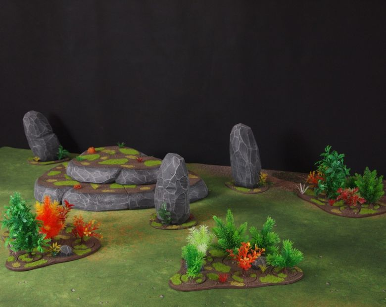 Warhammer 40k jungle terrain set 2