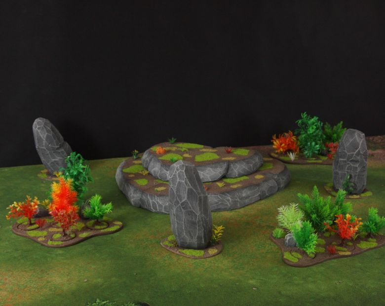 Warhammer 40k jungle terrain set 3