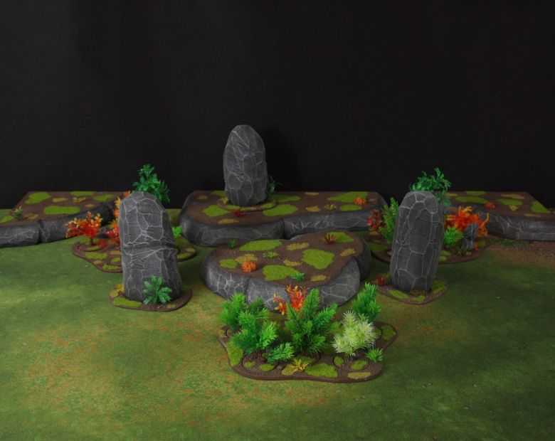 Warhammer 40k jungle terrain set 5