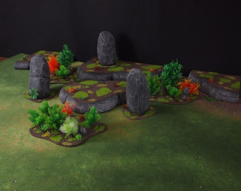 Warhammer 40k jungle terrain set 7