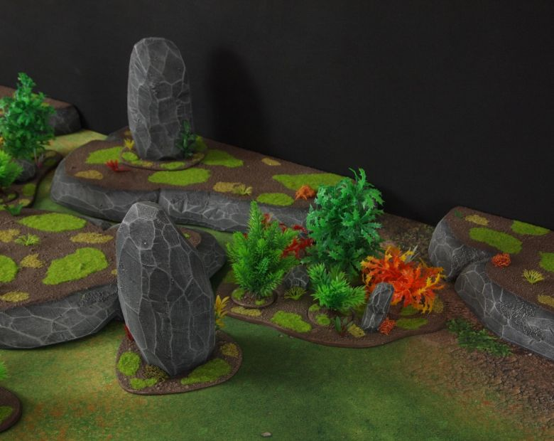 Warhammer 40k jungle terrain set 8