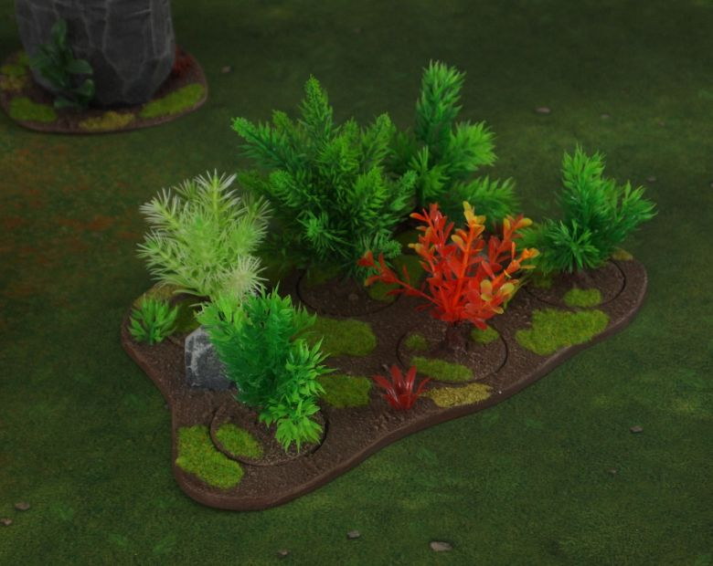 Warhammer 40k jungle terrain set forest 1