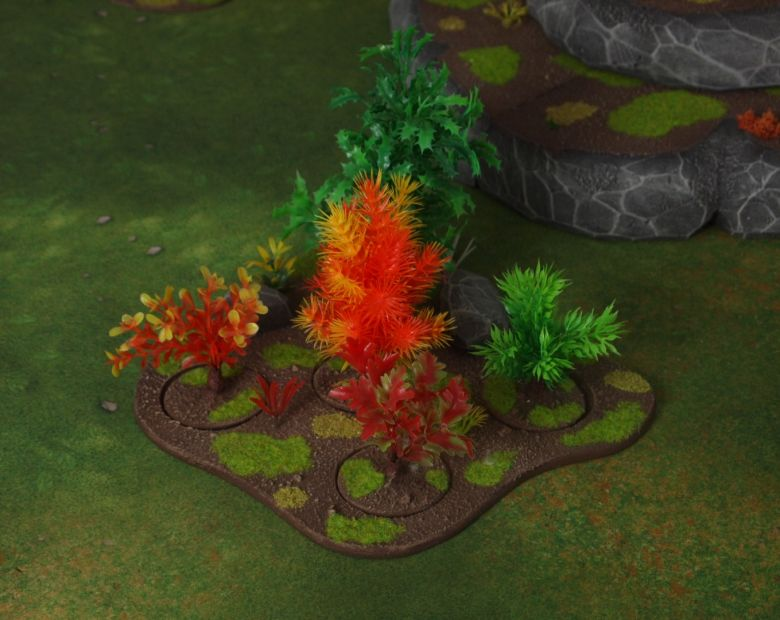 Warhammer 40k jungle terrain set forest 2