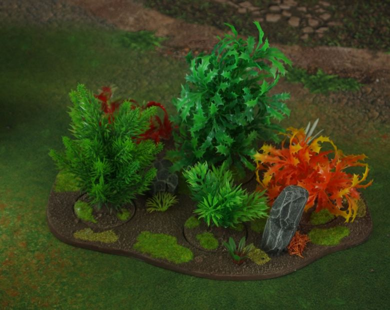 Warhammer 40k jungle terrain set forest 3