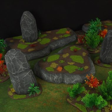 Jungle fight - WargameTerrainFactory - Miniatures War Game Terrain & Scenery