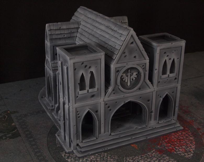 Warhammer 40k terrain cathedral 1
