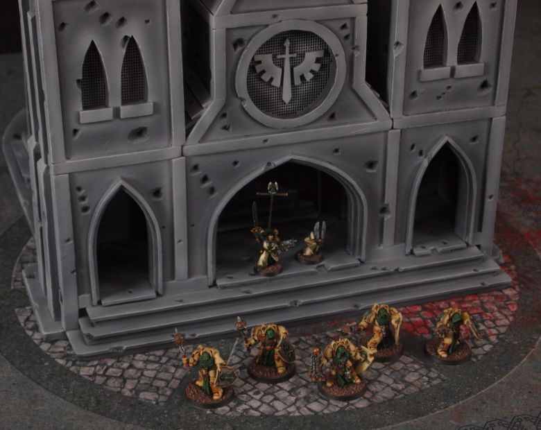 Warhammer 40k terrain cathedral deathwing chaos