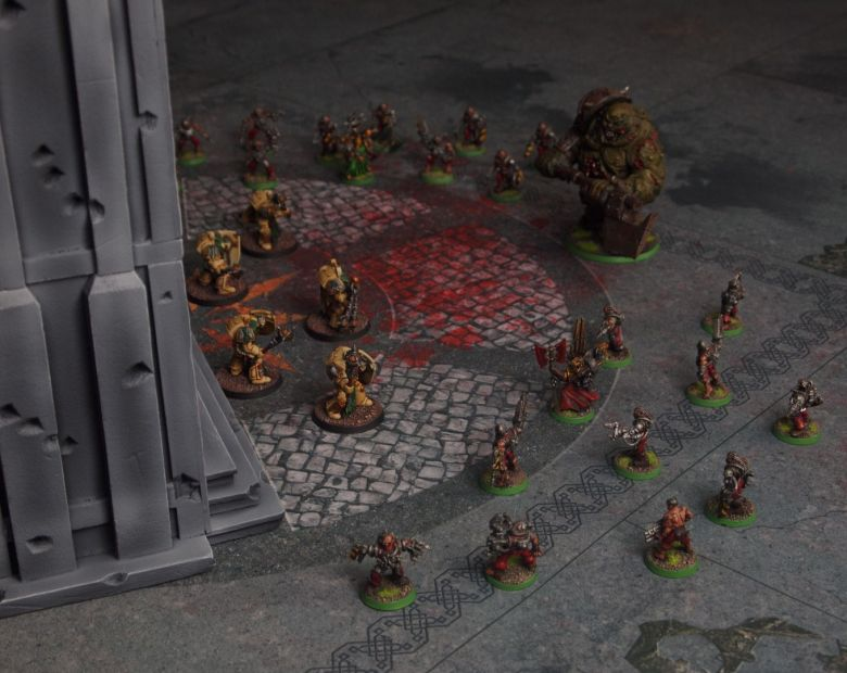 Warhammer 40k terrain cathedral deathwing chaos 2