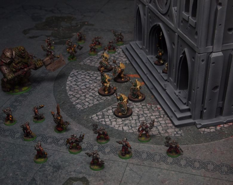 Warhammer 40k terrain cathedral deathwing chaos 3
