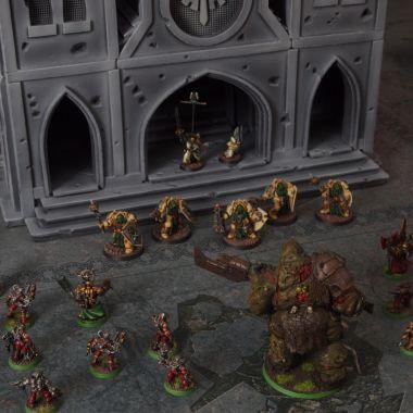 Scifi Angels Cathedral - WargameTerrainFactory - Miniatures War Game Terrain & Scenery