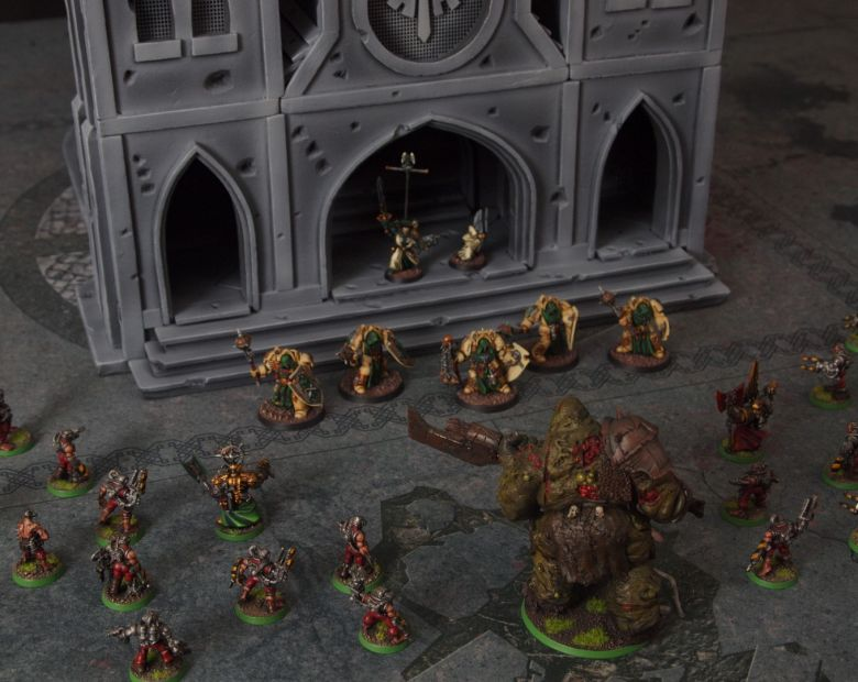 Warhammer 40k terrain cathedral deathwing chaos 8