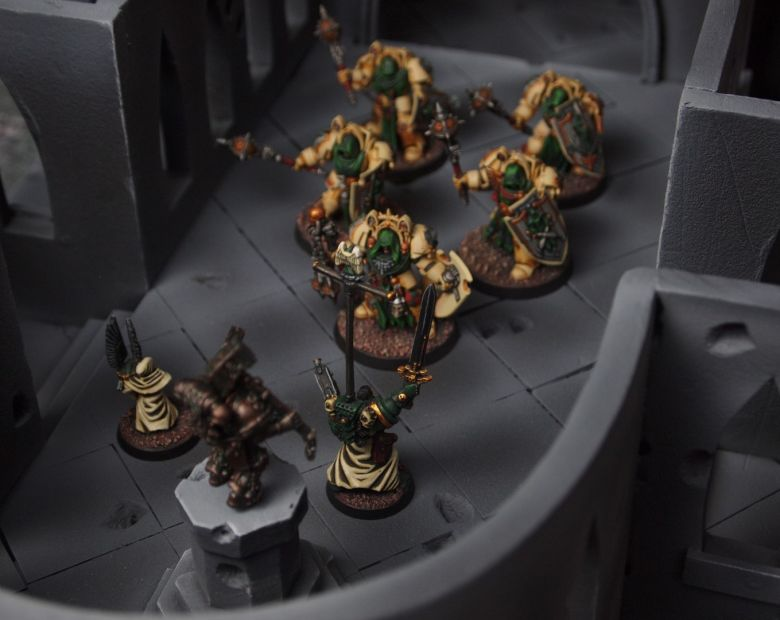 Warhammer 40k terrain cathedral deathwing chaos interior 5