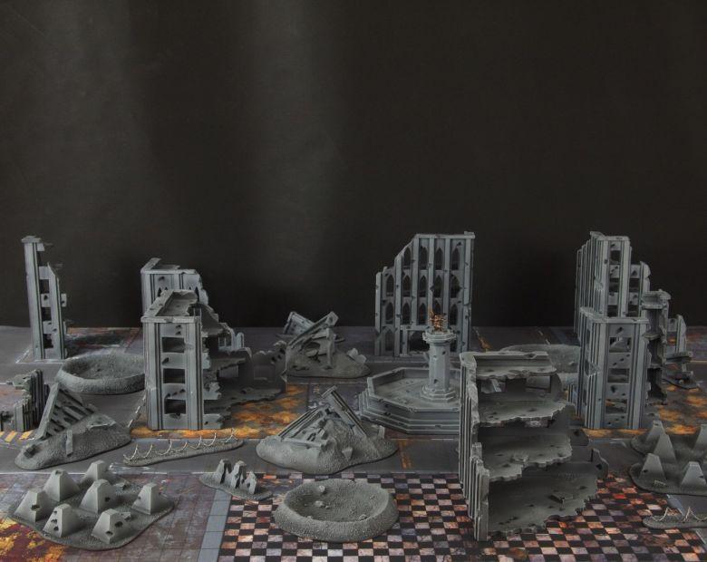 Warhammer 40k terrain fallout cityfight 1 1
