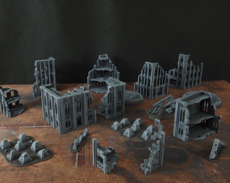Warhammer 40k terrain fallout cityfight 1 10