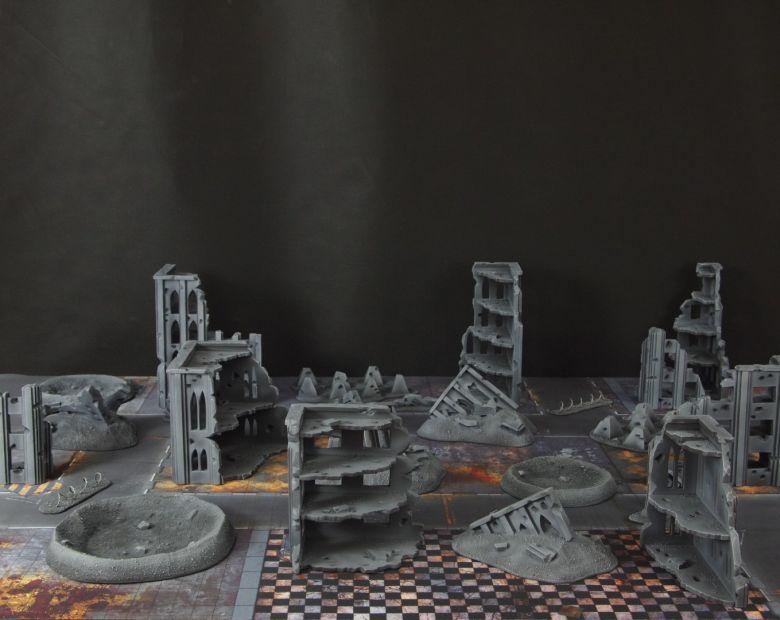 Warhammer 40k terrain fallout cityfight 1 2