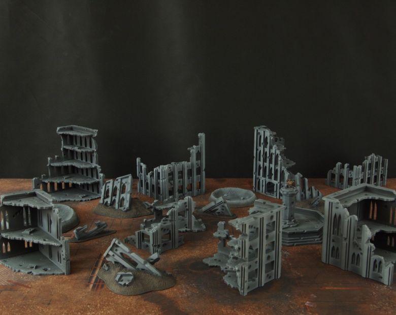 Warhammer 40k terrain fallout cityfight 1 5