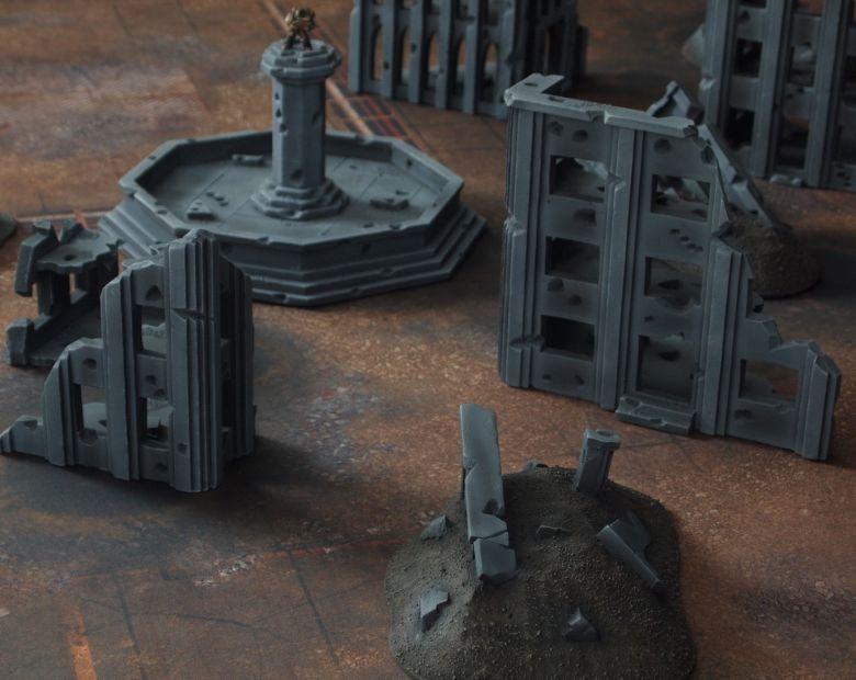 Warhammer 40k terrain fallout cityfight 1 7