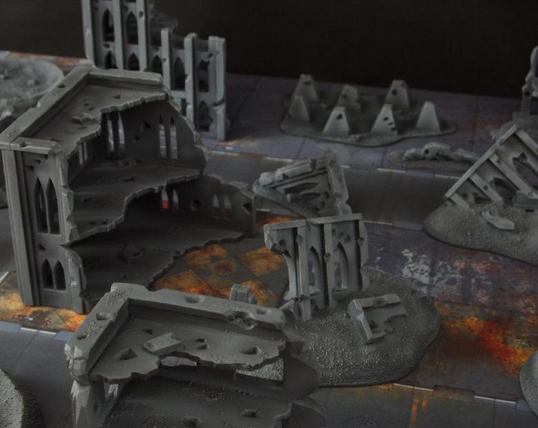 Warhammer 40k terrain fallout cityfight 10
