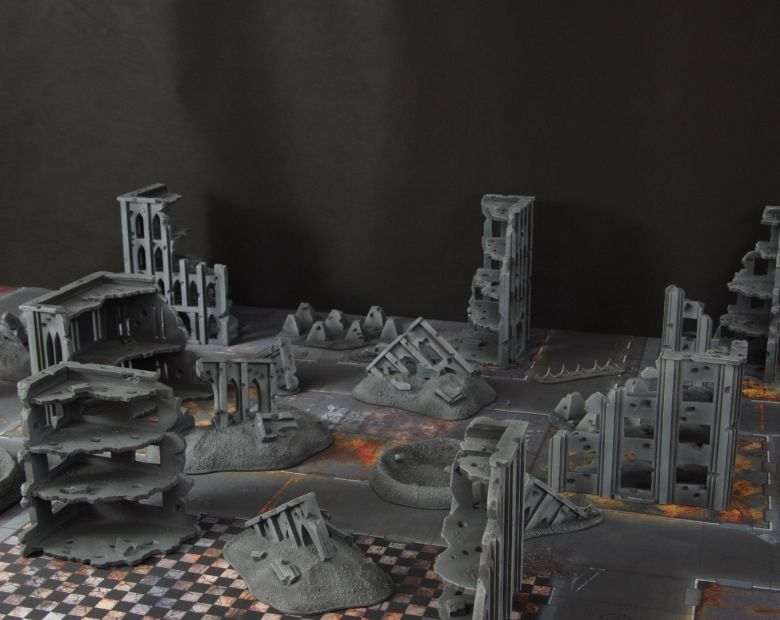 Warhammer 40k terrain fallout cityfight 2 1