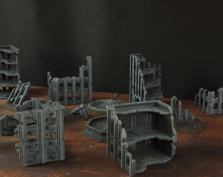 Warhammer 40k terrain fallout cityfight 2 5