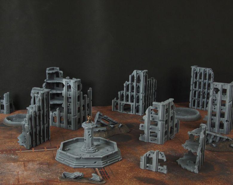 Warhammer 40k terrain fallout cityfight 2 6