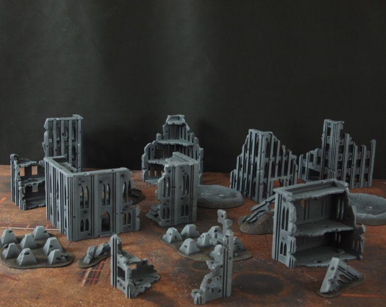 Warhammer 40k terrain fallout cityfight 2 7
