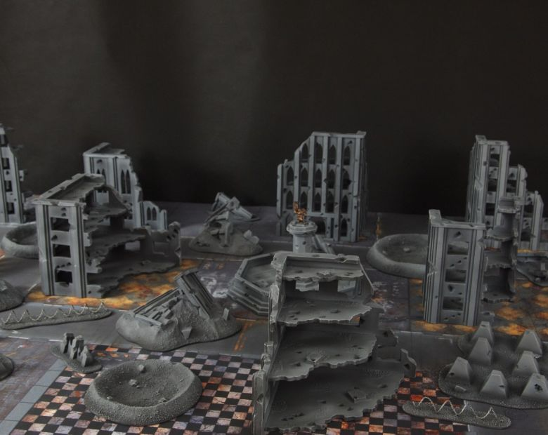 Warhammer 40k terrain fallout cityfight 2