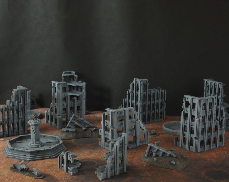 Warhammer 40k terrain fallout cityfight 3 4