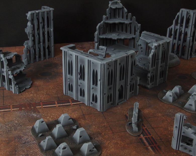 Warhammer 40k terrain fallout cityfight 3 5