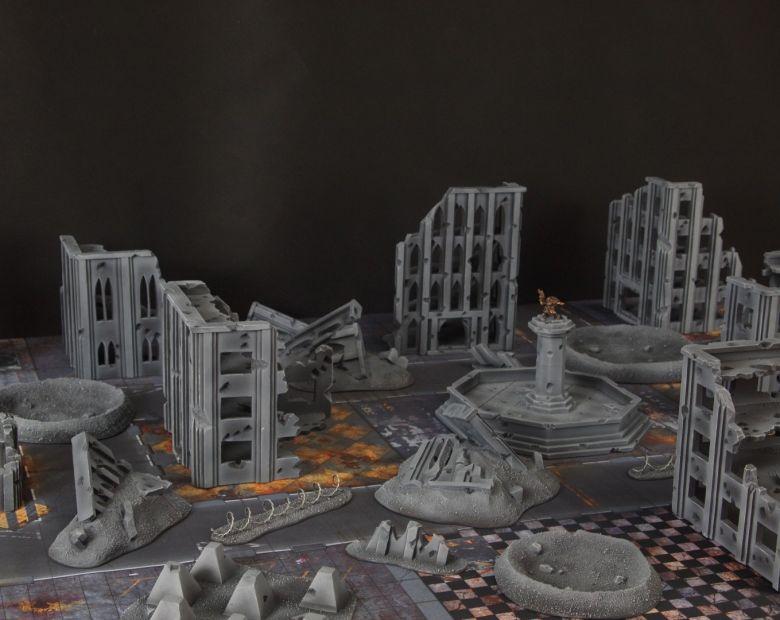 Warhammer 40k terrain fallout cityfight 3