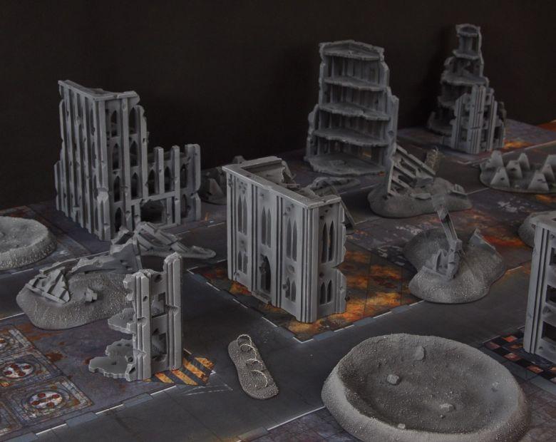 Warhammer 40k terrain fallout cityfight 4 1