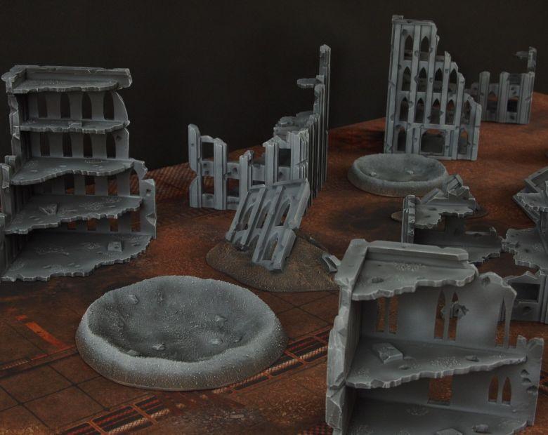 Warhammer 40k terrain fallout cityfight 4 2