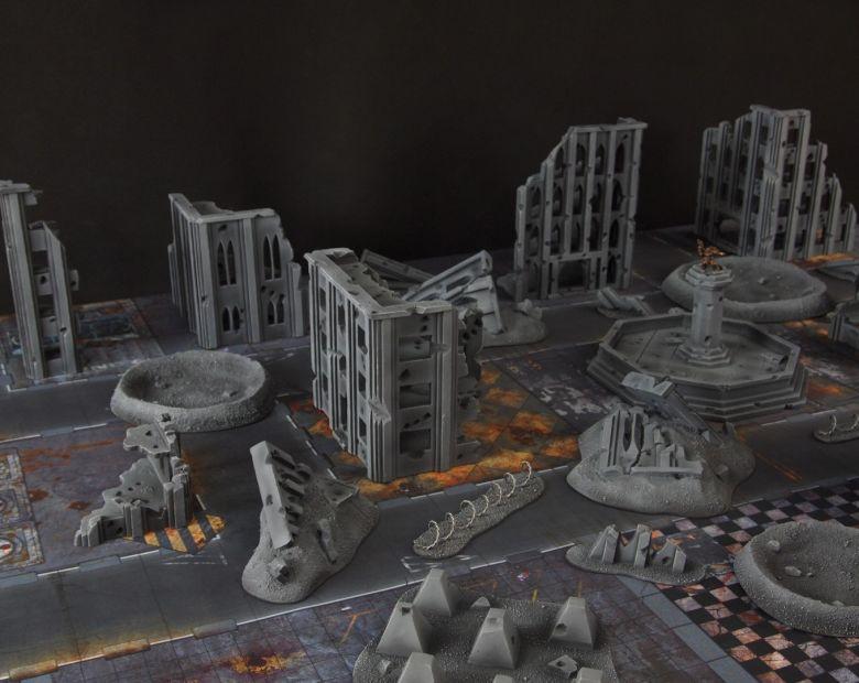 Warhammer 40k terrain fallout cityfight 4