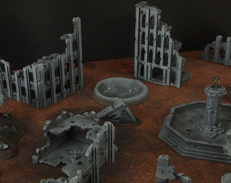 Warhammer 40k terrain fallout cityfight 5 1