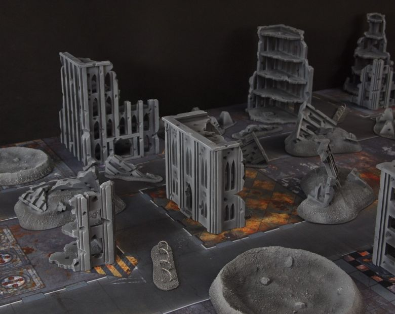 Warhammer 40k terrain fallout cityfight 5