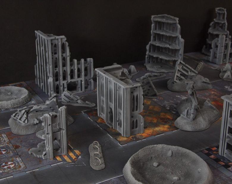 Quarantine zone cityfight 1 - WargameTerrainFactory
