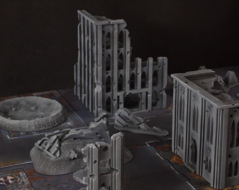 Warhammer 40k terrain fallout cityfight 6