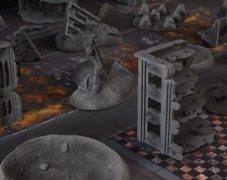 Warhammer 40k terrain fallout cityfight 7
