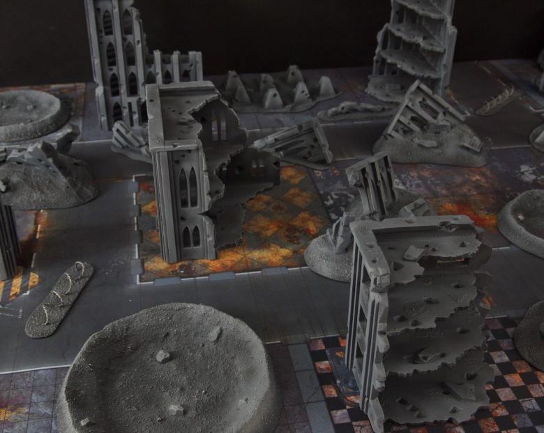 Warhammer 40k terrain fallout cityfight 8