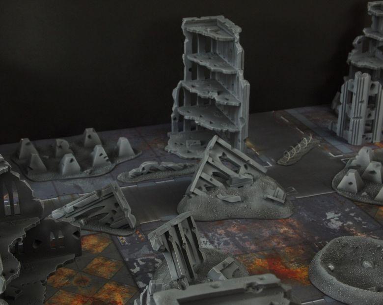 Warhammer 40k terrain fallout cityfight 9