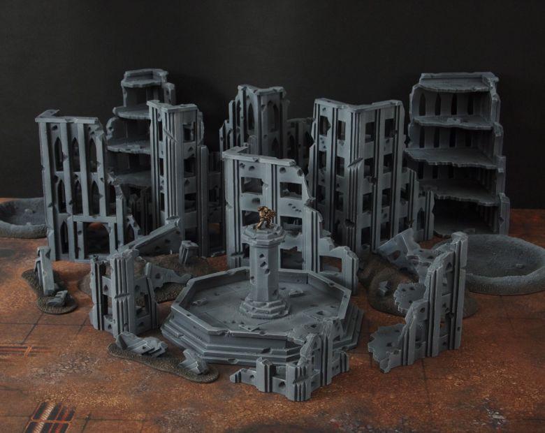 Warhammer 40k terrain fallout cityfight overview 1 1